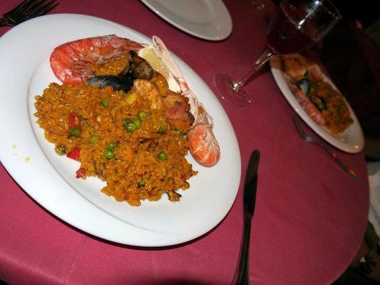 Restaurant Koxkera: Paella Mixta