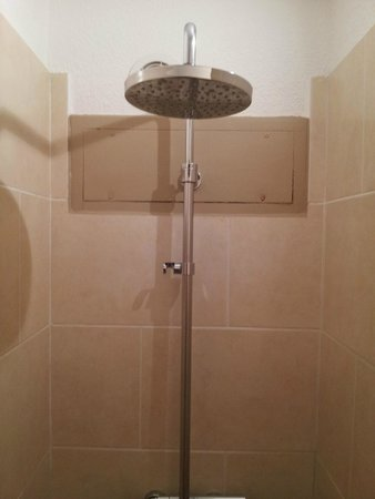 Hotel l'Amandiere : Shower