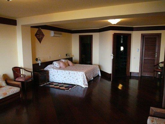 Pousada do Pilar : Suíte Luxo Vista Baía