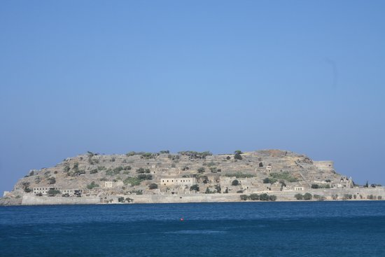 Blue Palace, a Luxury Collection Resort & Spa: SPINALONGA FACE A L HOTEL