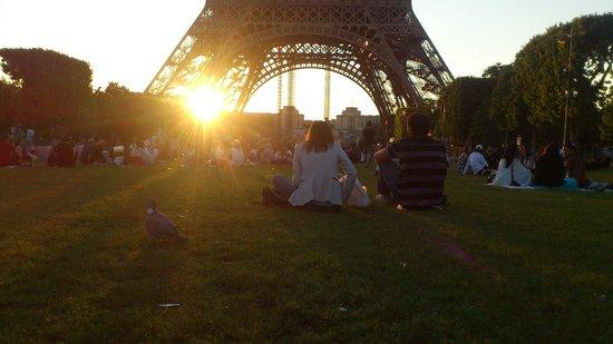 Tour Eiffel : Закат