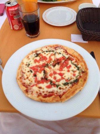 Elegance Hotels International, Marmaris: Margarita pizza.