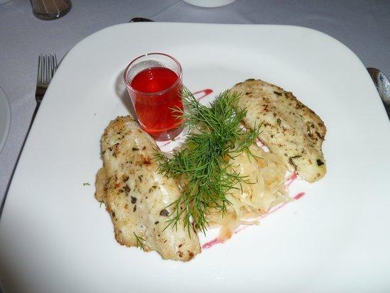 Volkhov Hotel: Одно из блюд ресторана