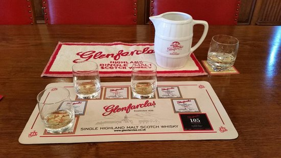 Glenfarclas Distillery: Great tasting!