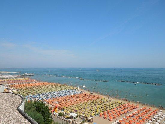 Hotel Residence Villa Mare: Panorama terrazzo 2