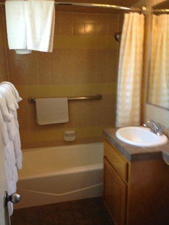 Best Western Pine Tree Motel: Bathroom Room 216 or 217