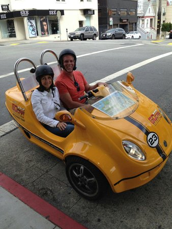 GoCar GPS Guided Tours : Me and my girl!