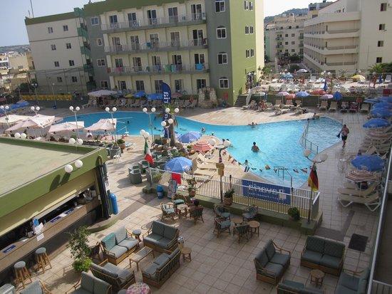 Topaz Hotel: Vista dalla camera 3340.