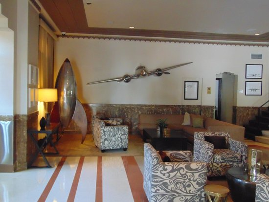 Art Deco Tours: The airplane figured much in Art Deco.