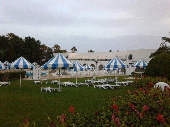 El Mouradi Beach : Piscina