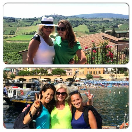"""Walkabout Florence Tours : With Antonella """"Best of Tuscany Tour"""" With Sandra and Lavinia """" Cinque Terre hiking Trip"""""""