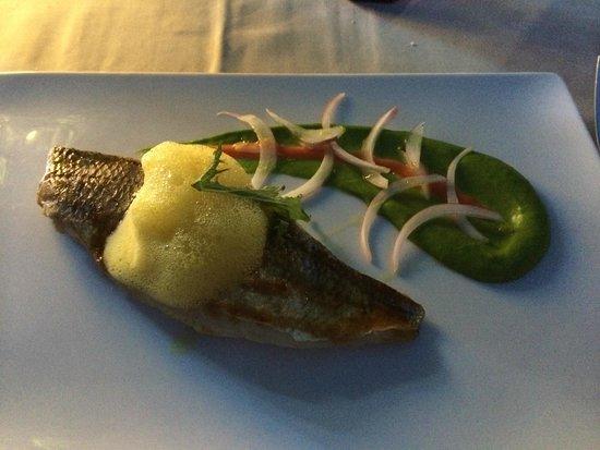 Hotel L'Ile de la Lagune : Cuisine originale et rafinée