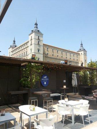 View Over The Restaurant Picture Of Bu Terraza Toledo