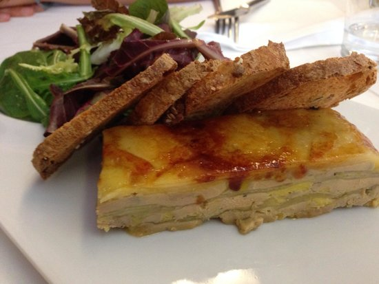 Restaurant La Cabana: Milfulls de foie i poma