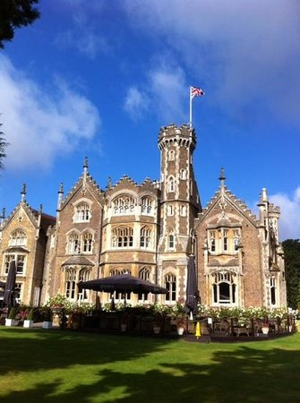 The Oakley Court: stunning building