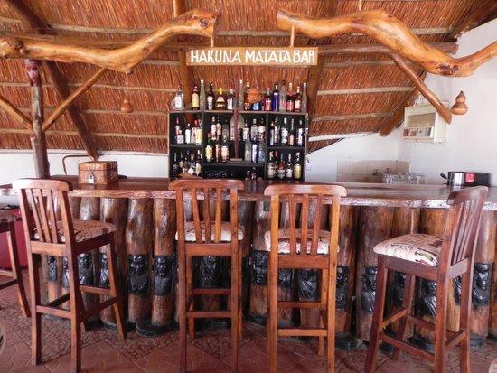 Manyara Wildlife Safari Camp: de bar