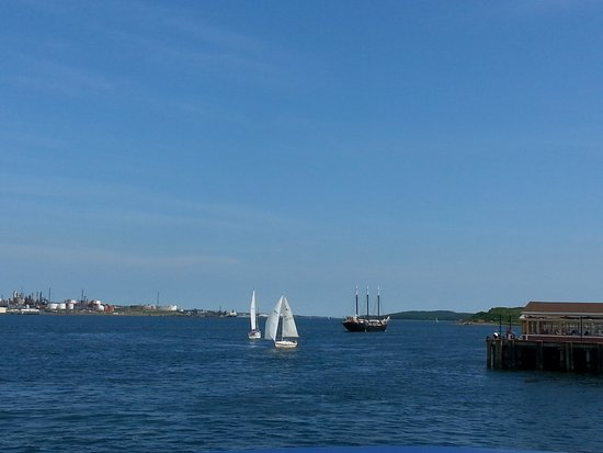 Halifax Harbour Ferry : beautiful view