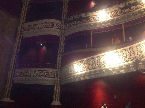 Gaiety Theatre: Balconies