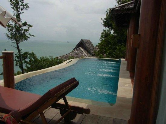 Santhiya Koh Yao Yai Resort & Spa : Pool in Villa