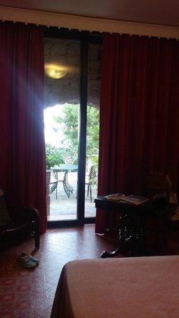 Il Saraceno Grand Hotel: vista sul giardino