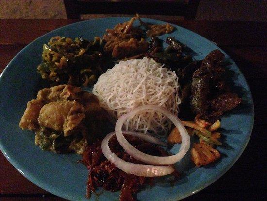 Cinnamon Grand Colombo: Sumptuous meal at Nuga Gama