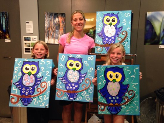 Jackson Art Studio & Gallery: Me and my kids!