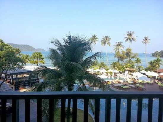 Pullman Phuket Panwa Beach Resort: View from our balcony