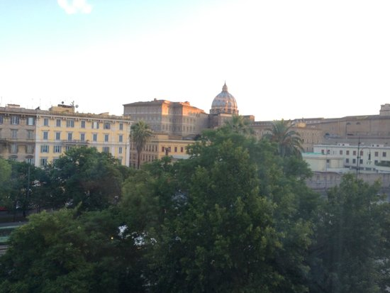 Vatican Vista: view from window