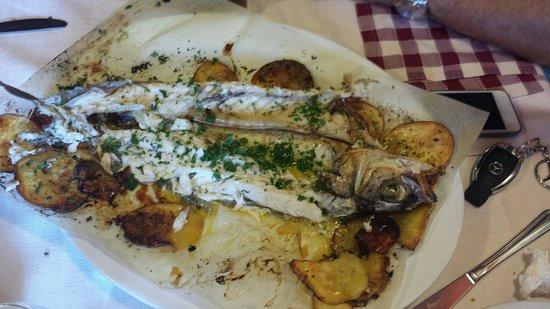 Fra Pappina : Branzino con patate