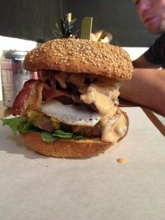 Lombardo's : hangover burger