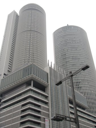 JR Central Towers: JR Towers Nagoya by day