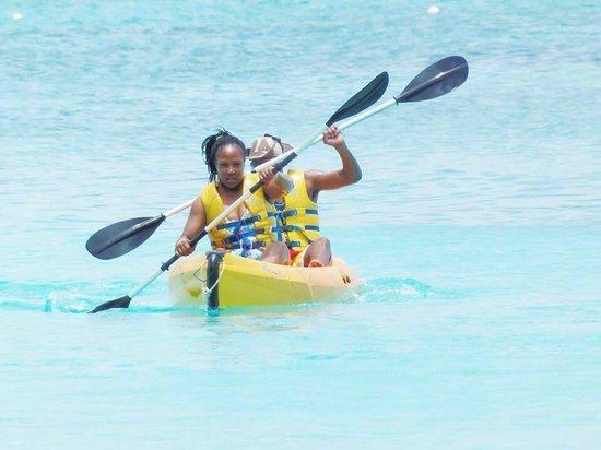 Beaches Turks & Caicos Resort Villages & Spa : Kayaking