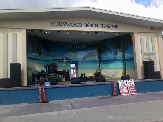 Hollywood Beach Teatro En La Playa