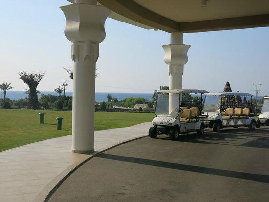 La Marquise Luxury Resort Complex : sea from hotel