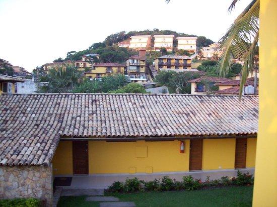 Pousada Joao Fernandes: Vista desde el balcón de la habitación.