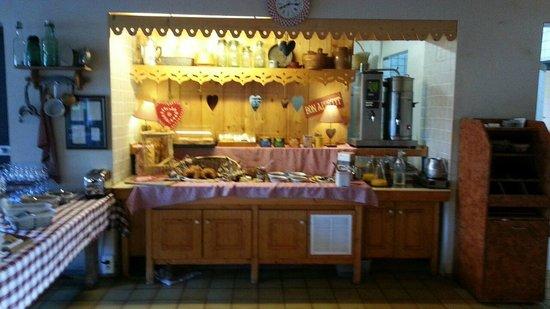Hotel Porte de Genève : zona colazione