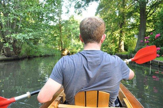 Kahnfahrten im Spreewald: Kayaking