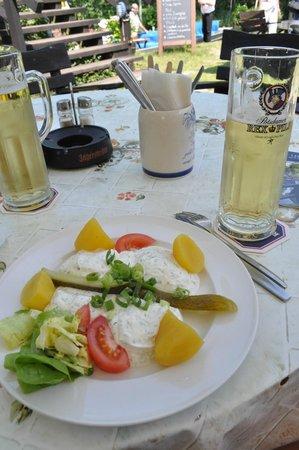 Kahnfahrten im Spreewald: dinner time