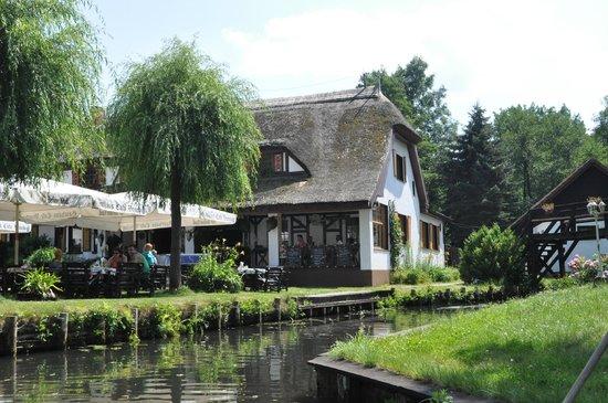 Kahnfahrten im Spreewald: Nice pub