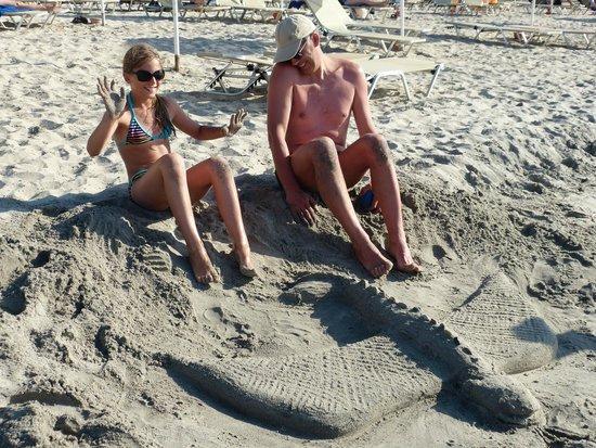 Horizon Beach Resort: travaux de plage