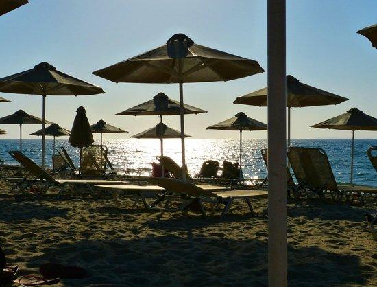 Horizon Beach Resort: fin de journée sur la plage