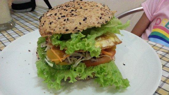 The leaf healthy Recipes: Burger