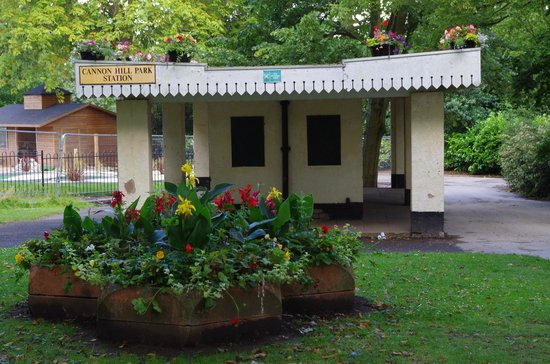 Inside the garden tea room picture of cannon hill park for Garden room birmingham