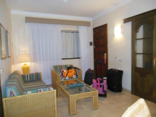 Hotel Dunas Suites and Villas Resort: lounge area