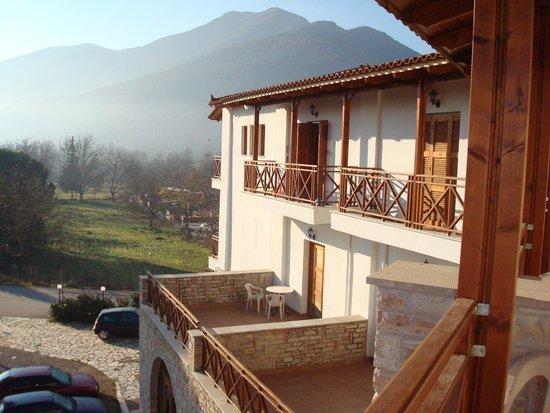 Mont Helmos Hotel : φωτό απτο μπαλκόνι