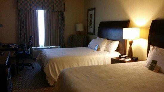Hilton Garden Inn Abilene: If you like memory foam beds, then you will love these beds.
