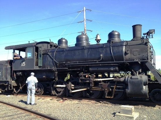 Chehalis, WA: Antique Steam Engine