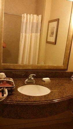 Hilton Garden Inn Abilene : Sink and Vanity Area
