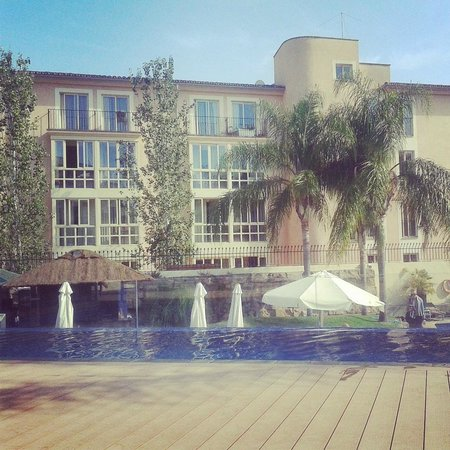 Hotel Isla Mallorca & Spa: View from the adults only sun terrace