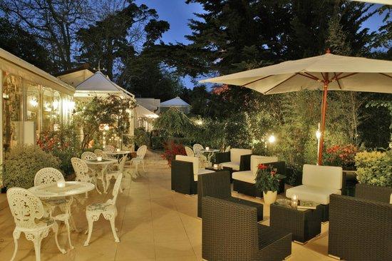 Les Lierres au Parc Victoria : Terrasse Restaurant
